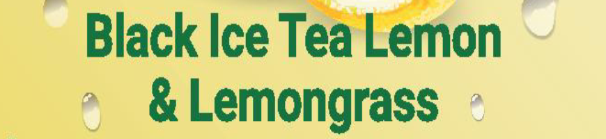 Black Ice Tea Lemon & Lemongrass