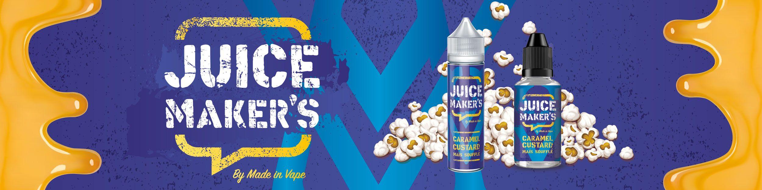 Juice maker's une marque inspirée Par de vrais juices maker's passionnés ,avec comme objectif de surprendre le marché français !