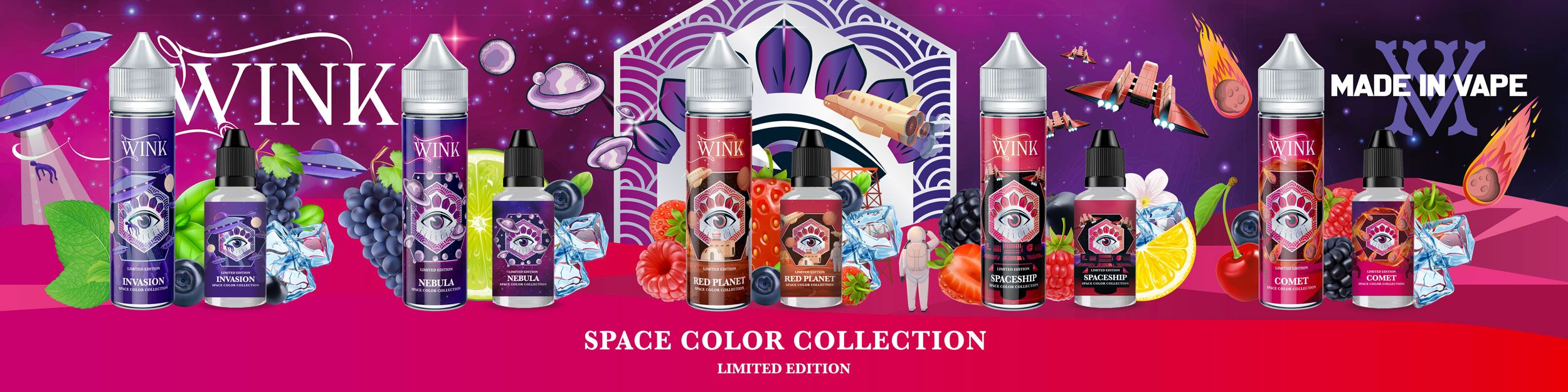 WINK SPACE COLOR COLLECTION